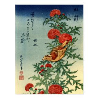 Carte postale d'art de Hokusai