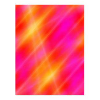Carte postale d'art de l'espace de Digitals -