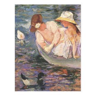Carte postale d'art de Mary Cassatt
