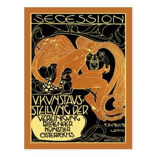 Carte postale d'art de Moser :  Objet exposé d'art