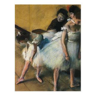 Carte postale d'art d'Edgar Degas