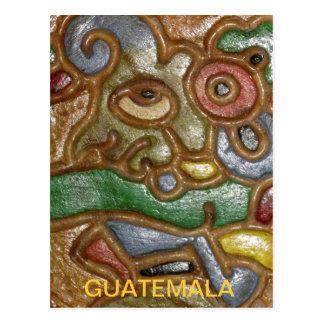 Carte postale d'art du Guatemala