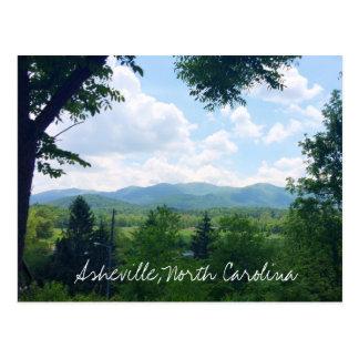 Carte postale d'Asheville