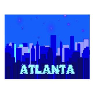 Carte postale d'Atlanta