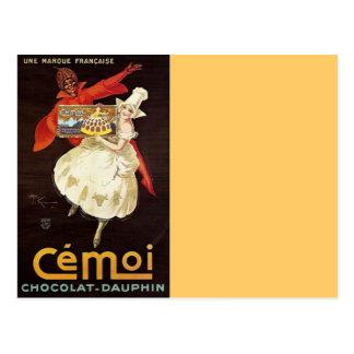 Carte Postale Dauphin Girls1924 français de Chocolat
