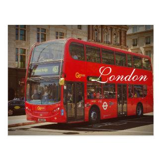 Carte postale d'autobus de Londres