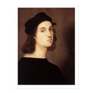 Carte postale d'autoportrait de Raphael