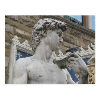 Carte Postale David de Michaël Angelo, Florence Italie