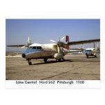 Carte postale d'avions