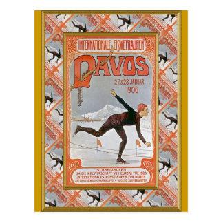 Carte Postale Davos 1906