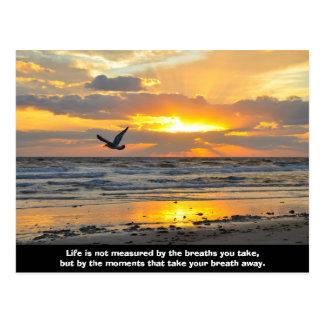Carte postale Daytona Beach, FL de lever de soleil