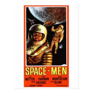 """Carte postale de """"astronautes"""""""