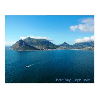 Carte postale de baie de Hout, Cape Town, Afrique