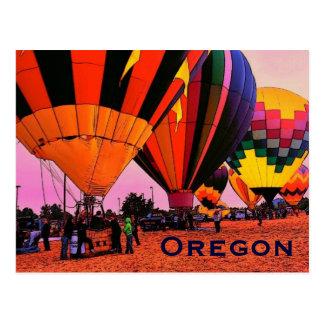 Carte postale de ballon de l'Orégon