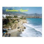 Carte postale de Barcelone, Espagne