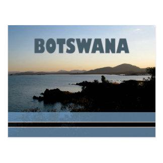 Carte postale de barrage du Botswana - de Gaborone