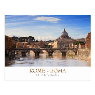 Carte postale de basilique de Rome - de St Peter