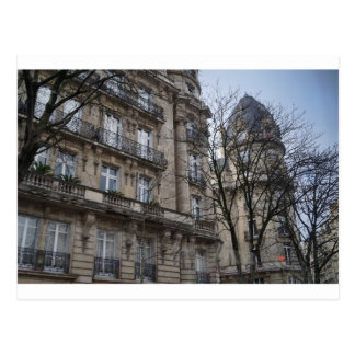 Carte postale de bâtiment de Paris
