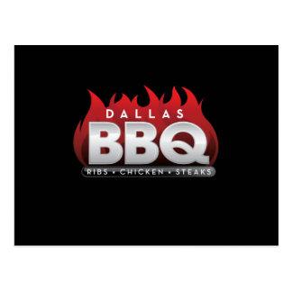 Carte postale de BBQ de Dallas