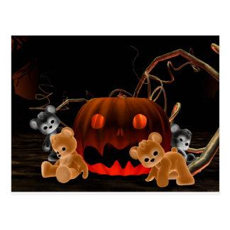 Carte postale de Bearz Halloween de nounours