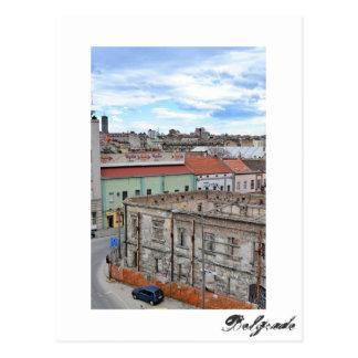 Carte postale de Belgrade