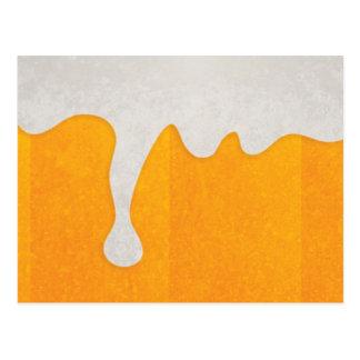 Carte postale de bière
