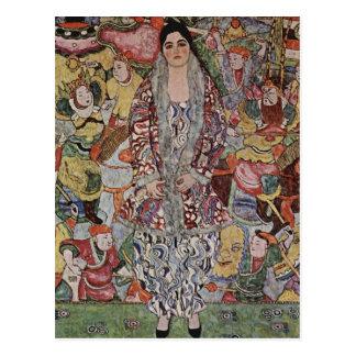 Carte postale de bière de Gustav Klimt Fredericke