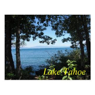 Carte postale de bleu de Tahoe