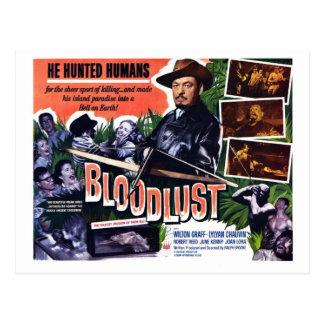 """Carte postale de """"Bloodlust"""""""