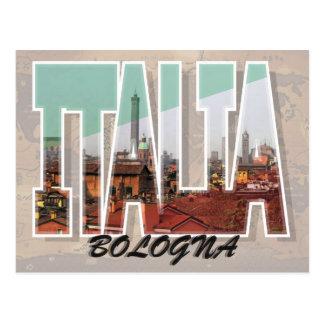 Carte postale de Bologna, Italie