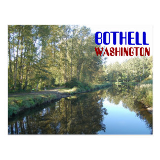 Carte postale de Bothell Washington