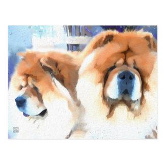 Carte postale de bouffe de heARTdog d'OCCASION et