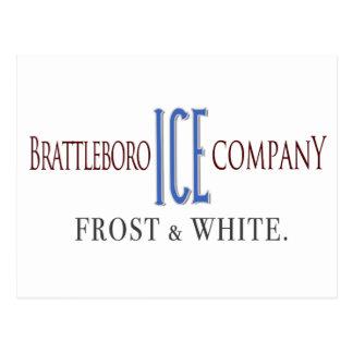 Carte postale de Brattleboro Ice Company