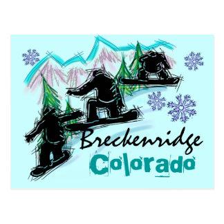 Carte postale de Breckenridge le Colorado