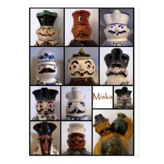 Carte postale de broc de Miska