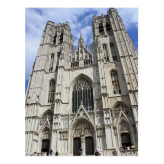 Carte postale de Bruxelles Belgique d'église de St