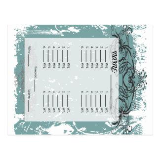 Carte postale de Bunco d'invitation