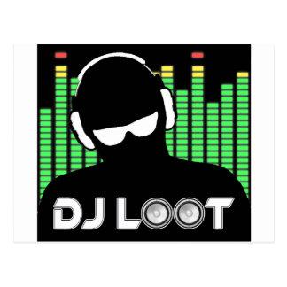Carte postale de butin du DJ