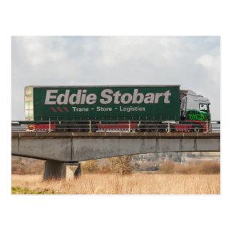 Carte postale de camion d'Eddie Stobart