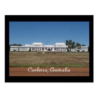 Carte postale de Canberra Australie