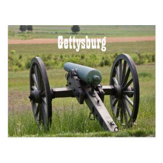 Carte postale de canon de Gettysburg