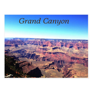 Carte postale de canyon grand