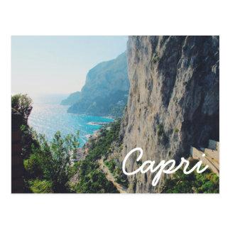 Carte postale de Capri
