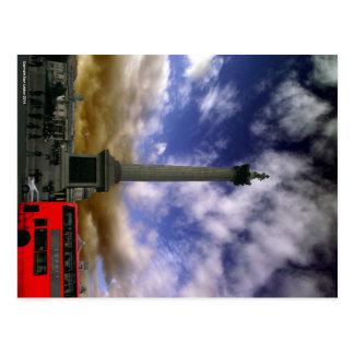 Carte postale de carré de Trafalgar