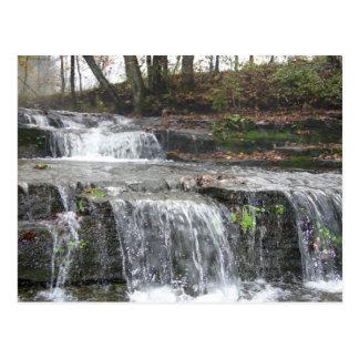 Carte postale de cascade d'Adirondack