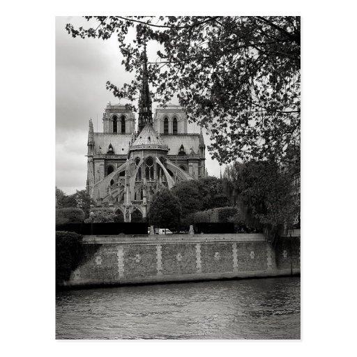 Carte postale de cathédrale de Notre Dame