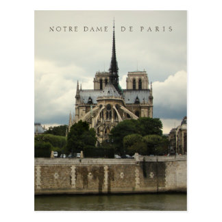 Carte postale de cathédrale de Notre Dame de Paris