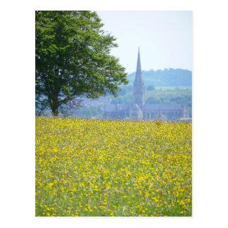 Carte postale de cathédrale de Salisbury