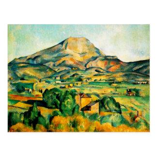 Carte postale de Cezanne Mont Sainte-Victoire