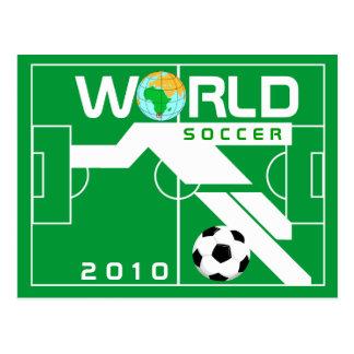 Carte postale de champ du football 2010 de coupe